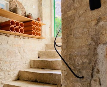 gite 2 à 4 personnes escalier
