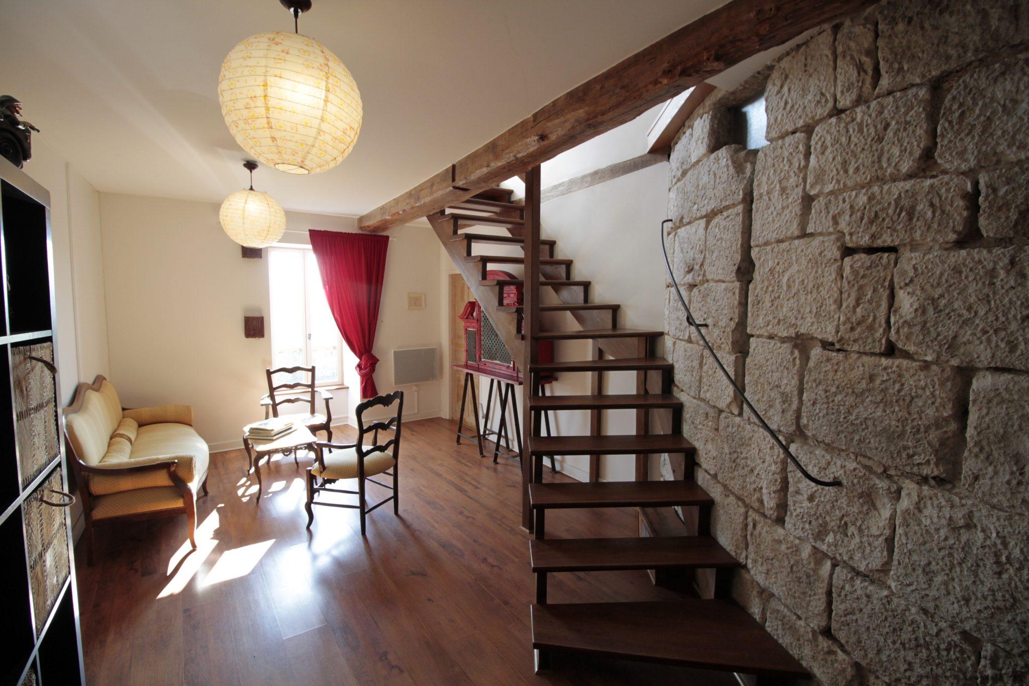 escalier chambre sereine
