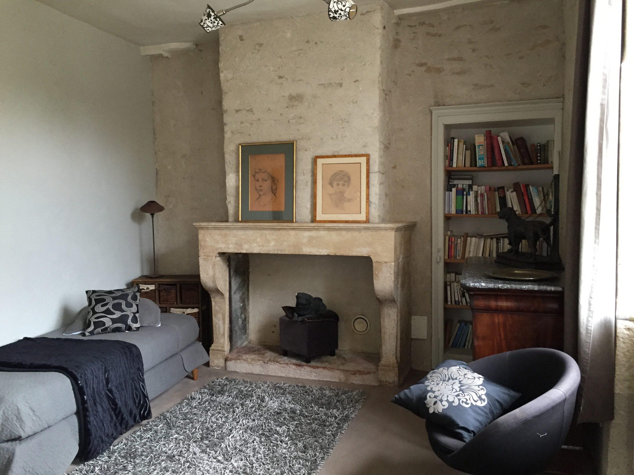 cheminée chambre mélisse